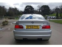 BMW M3 3.2 2005/55 COUPE SMG PADDLE SHIFT IMOLA RED NAPPA HEATED MEMORY LEATHER SAT NAV/TV HARMONS!!