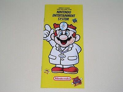 1991 Nintendo Advertising Brochure dr. Mario - Nes