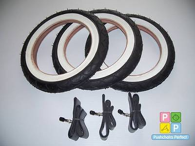3 X Phil & Teds Classic Pushchair Tyre And Tube Sets, Pram, Buggy