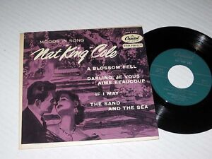 45-rpm-EP-w-JACKET-Nat-King-Cole-MOODS-IN-SONG-Capitol-NM-NM