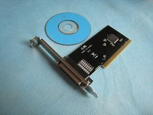 High Speed PCI Parallel Port Printer LPT Card IEEE1284