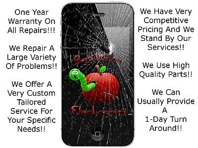 Iphone 4 4S Digitizer Glass Touch Screen LCD Assembly Repair Service Replacement on Rummage