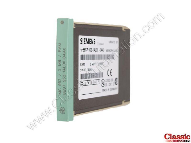Siemens   6ES7952-1AL00-0AA0   RAM Memory Module - 2MB (Refurbished)