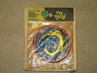 Vintage 1970 Iron On Cave Diver Patch Still in Original Packaging