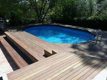 Above Ground Swimming Pool Installations Aberfoyle Park Morphett Vale Area Preview
