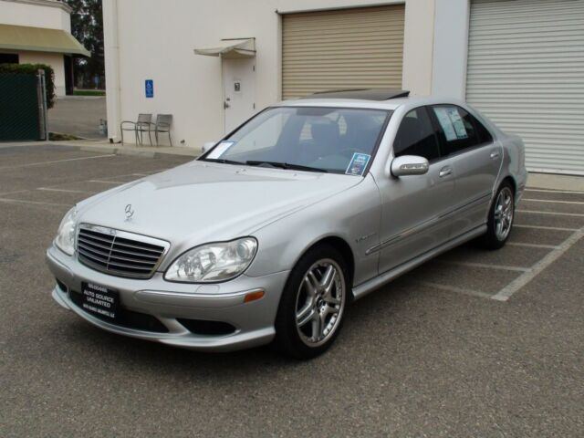 2006 mercedes benz s55 amg kompressor navi sunroof for Mercedes benz v8 kompressor