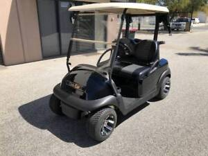 Black Golf Cart Club Car Precedent