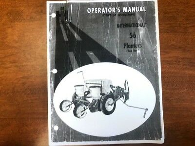 International 56 Planters Operators Manual 076