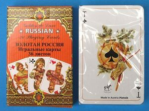 Russian Style 36 Playing Cards deck