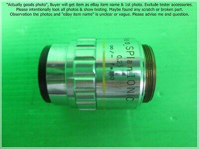 Olympus Neo Splan 10 Nic 10x0.25 - F180 Objective Lens As Photo Sn7364.
