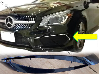 für Mercedes cla 45 amg paket tuning 772 773 w 177 frontspoiler diffusor bumper