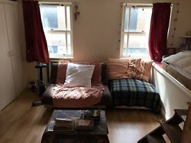 Newley decorated small self contained studio with laminate, kitchenette, dble glazing ALL BILLS INC