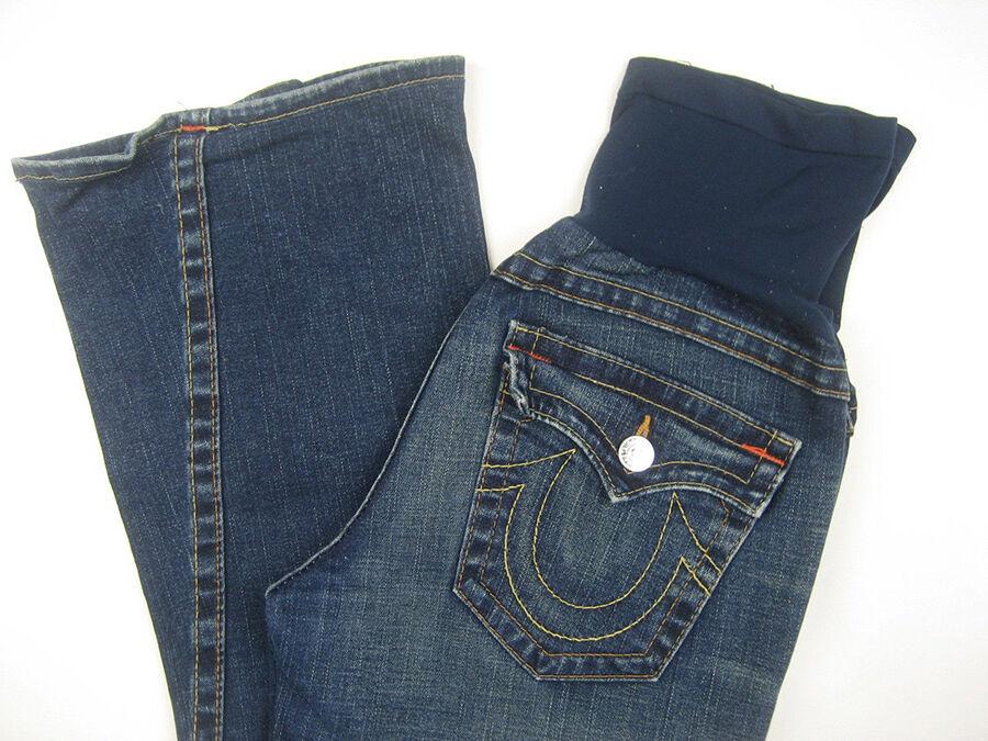 Motherhood Maternity: Petite Secret Fit Belly Signature Pocket Bootcut Maternity Jeans