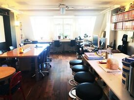 8x DESK SPACES AVAILABLE IN SOHO W1