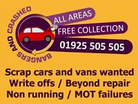 Bangers and crashed, we buy any used problem car or van