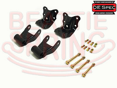 Spring Hanger - Rear Leaf Spring Rear Hanger Bracket and Shackle Kit for Ford Ranger Mazda
