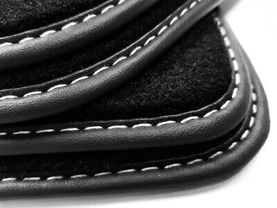 Fußmatten für Mercedes S-Klasse W126 79-91 Original Qualität Velours Automatten