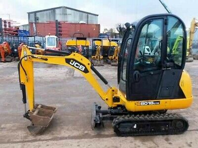 JCB 8018 Mini Digger - 2013 - Excellent Condition