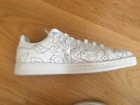 Adidas white sneakers for women
