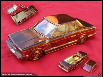 Datsun 910 Bluebird music box cigarette holder JDM Nissan rare