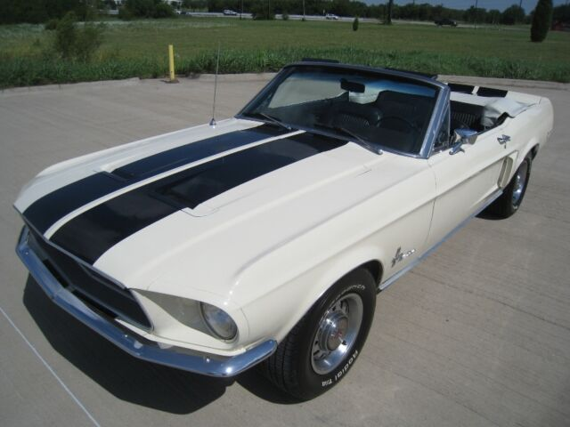 Ford: Mustang Convertible 1968 ford mustang convertible restomod v 8 auto w disc brakes powersteering