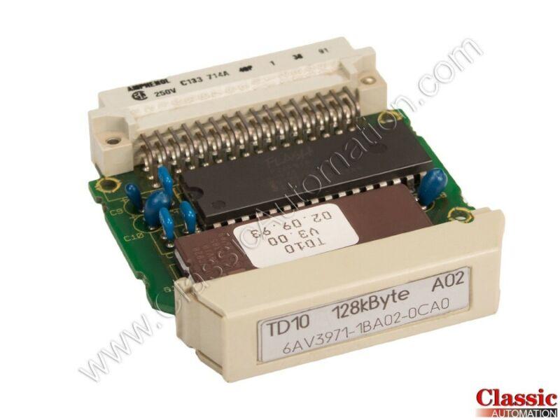 Siemens   6AV3971-1BA02-0CA0   TD10 128K Byte Memory Module (Refurbished)