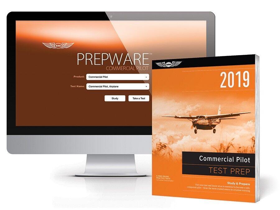 Test Prep 2019 Bundle: Commercial Pilot ISBN 978-1-61954-682-0 ASA TPB-C-19
