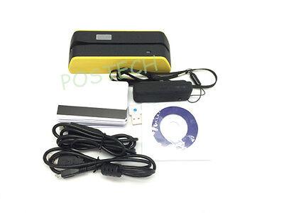 Smallest Magnetic Stripe Card Reader Writer Msr X6 Mini4b Magnetic Reader