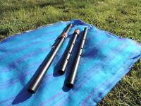 Fujara / Overtone Flute - Full Set keys of A, D and C made in PVC