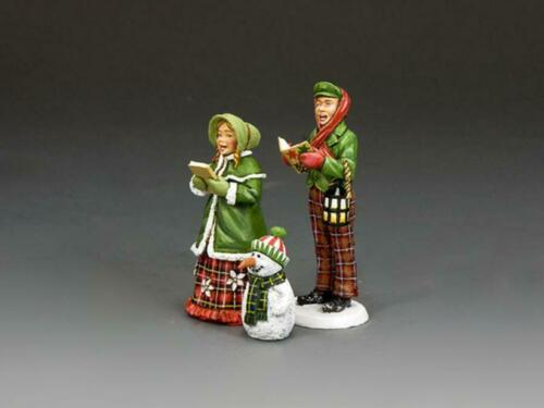 """King and Country XM020 """"The Young Carol Singers"""" 1/30 Christmas Toy Soldiers"""