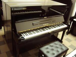 Yamaha Acoustic Upright Pianos & Other Japanese Brands www.musicm.ca comes with warranty, delivery & tuning