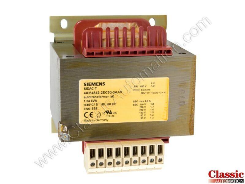 Siemens   4AM4842-2EC50-0AA0   Transformer  (Refurbished)