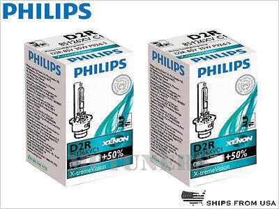 2 x PHILIPS X-TREME VISION D2R 85126XVC1 HID XENON CAR HEADLIGHT BULBS GERMANY