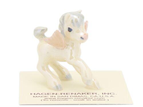Hagen-Renaker Miniature Ceramic Pegasus Baby Figurine