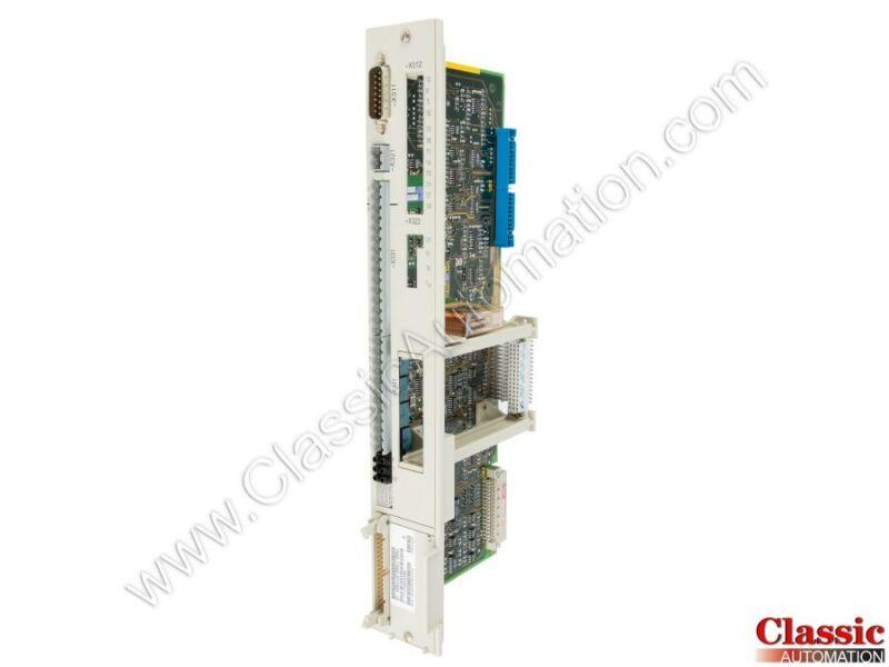 Siemens   6SN1118-0AA11-0AA1   Single Axis Drive Control Module (Refurbished)