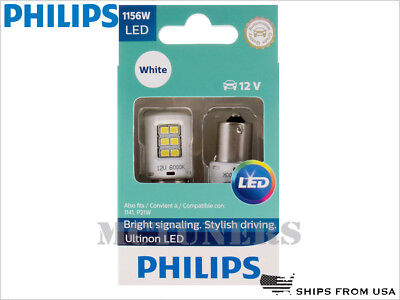 NEW! PHILIPS 1156W ULTINON LED WHITE BULBS 1156ULWX2 | PACK OF 2