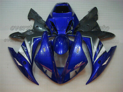 Injection Mold Fairing Bodykits Plastics Set Fit for Yamaha YZF R1 2002-2003 aAG