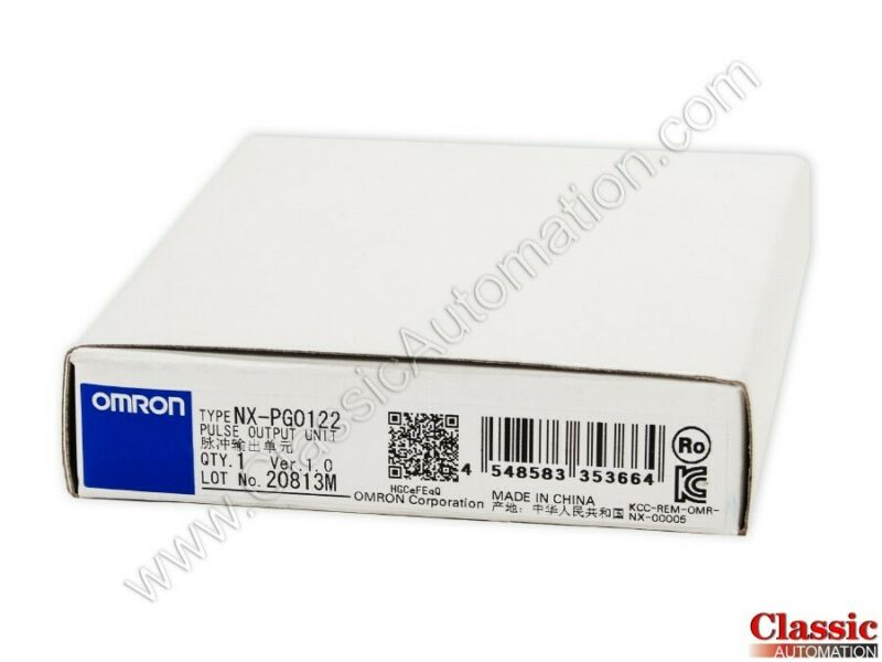 Omron | NX-PG0122 |Pulse Output Unit (new)