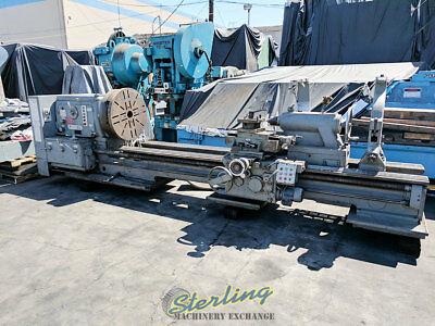4249 X 172 Used Poreba Heavy Duty Gap Bed Engine Lathe Tr100-b1 A4749