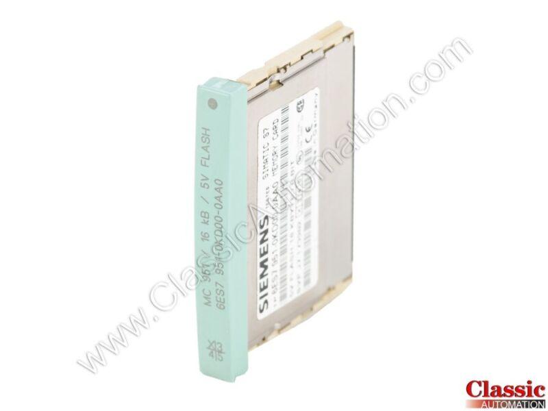 Siemens   6ES7951-0KD00-0AA0   Flash Memory Module - 16 KB (Refurbished)
