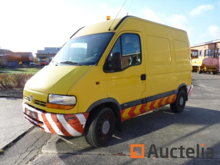 Renault Master Van 2001 80474 Km Ref 440 Bestelauto S