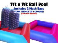 7ft x 7ft inflatable Ball Pool