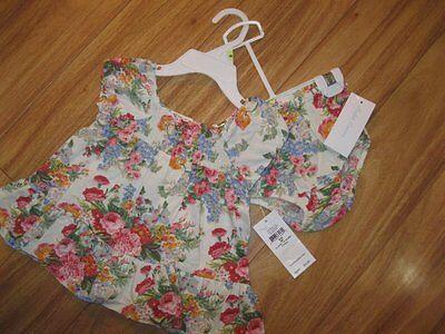 NWT Baby Girl's Ralph Lauren Flower Dress Set - 3 Months
