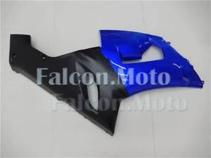 Right Side Fairing Fit for 05-06 kawasaki Ninja 636 ZX6R Injection Blue Black AE