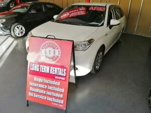 2015 Toyota Corolla White Automatic Wagon