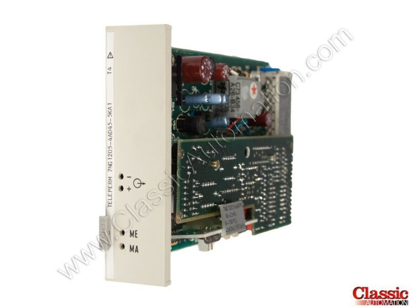 Siemens| 7NG1205-4AD45-5KA1 | Temperature Transmitter Module (new)