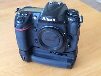 Nikon D300 body with MB-D10 battery/vertical grip