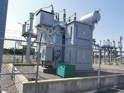 Siemens Unit Power Substation Transformer 50 Mva  138000 Delta