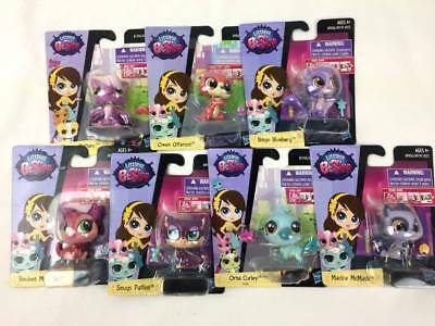 NEW 7 Piece Littlest Pet Shop Lot SINGLES GIRLS Birthday Gift Toys Party Favors - Littlest Pet Shop Birthday Party