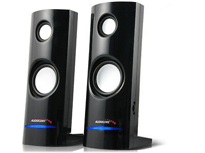Stereo-Lautsprecher Speaker PC Computer Laptop USB Mini kleine Boxen Audiocore